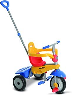 smarTrike Breeze Baby Tricycle/Trike, Yellow/Red/Blue, Multicolor (Renewed)