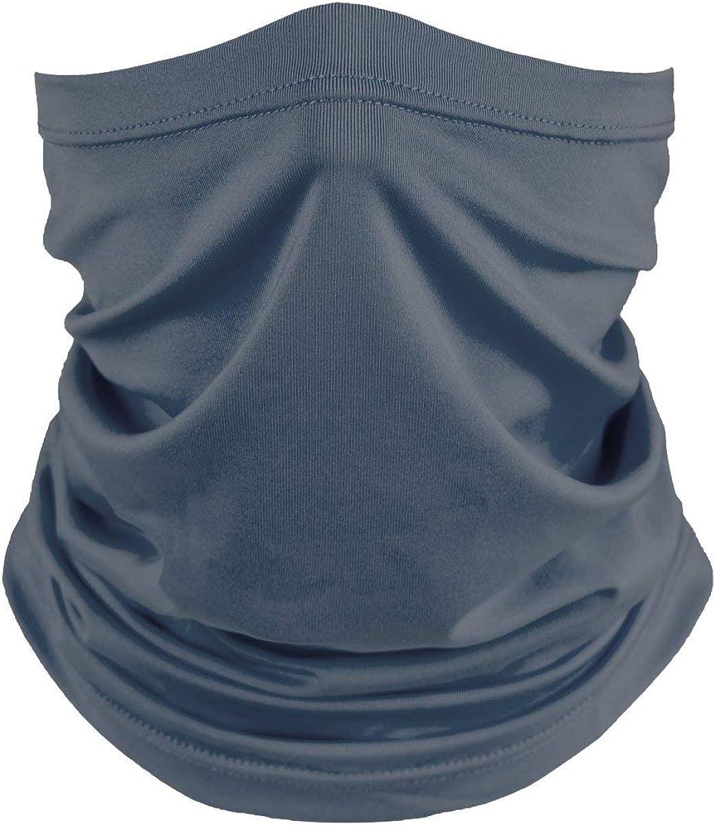 Willit Neck Gaiters Face Mask Reusable Cover Balaclava Bandana Cloth Face Mask Sun Dust Protection Washable