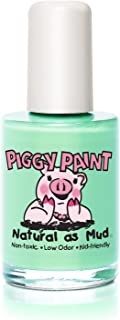 Piggy Paint Non-toxic Girls Nail Polish - Safe, Chemical Free - Mint to be