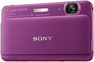 Sony DSC-TX55V digitale compacte camera (16,2 megapixels, 5-voudig opt. zoom, 8,3 cm (3,3 inch) touchscreen, Full-HD) paars
