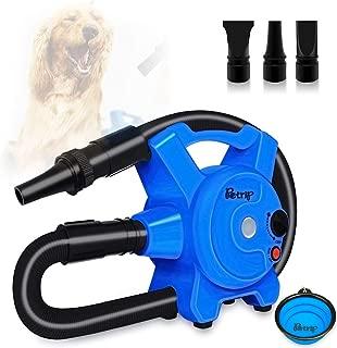PETRIP Dog Hair Dryer Pet Dryer Professional Grooming Blower Dog Slicker Brush for Large Medium Small Dog Cat
