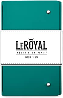 WAFF Le Royal Book, Turquoise