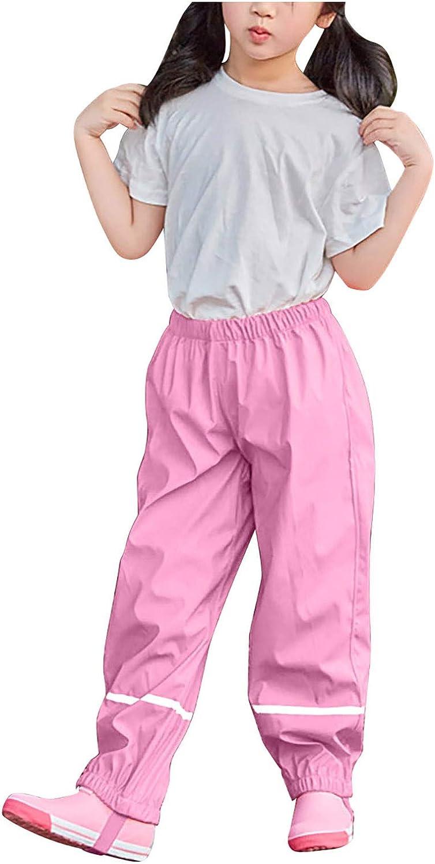 Yiihappy Children's Miami Mall Sale Special Price Rain Pants Waterproof Rainproof Windproof