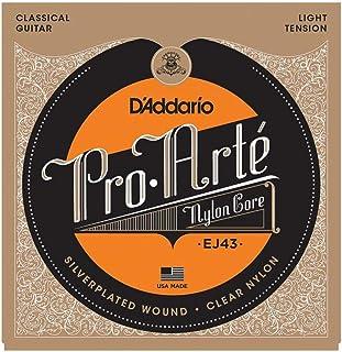 D'Addario EJ43 Juego de Cuerdas, Transparente