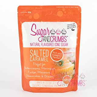 Salted Caramel Natural Flavoured Icing Sugar for Cakes and Bakes - 500g