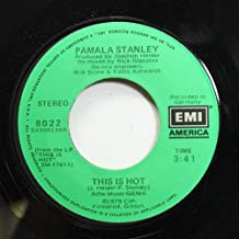 PAMALA STANLEY 45 RPM THIS IS HOT / ONLY YOU CAN REACH ME