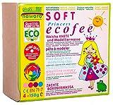 ökoNORM nawaro SOFT-Knete 4er Set Prinzessin