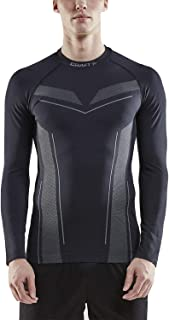 Pro Control Men's Long Sleeve T Shirts - Athletic Base Layer Dry Fit Shirt