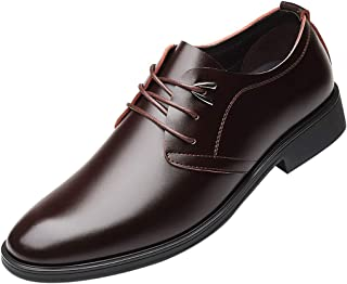 Lace-up Oxford Shoes, Limsea Mens Business Leather Dress Shoe Casual Wide Fit - Limsea