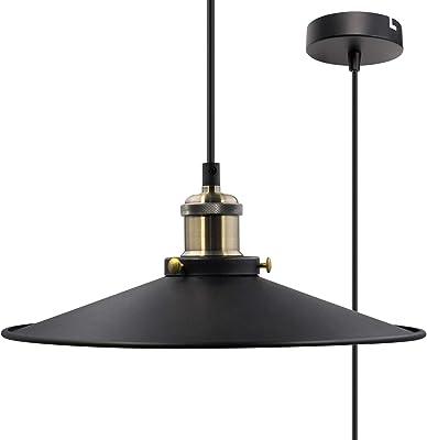 MiniSun - Moderna pantalla para lámpara de techo, con 4 ...