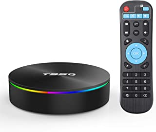 Android 8.1 TV Box,EASYTONE T95Q Android TV Box Quad-Core S905X2 4GB RAM 32GB ROM Support 5G WiFi/H.265/ BT4.1/ USB 3.0/ 1...