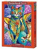Castorland Feline fiesta 1500 pcs Puzzle - Rompecabezas (Puzzle rompecabezas, Arte, Niños y adultos, Gato, Niño/niña, 9 año(s)) , color/modelo surtido