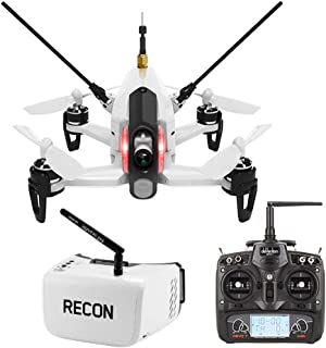 Walkera Rodeo 150 Racing Quadcopter RTF with Devo 7 and Fat Shark Recon V2 FPV Goggles Headset Combo