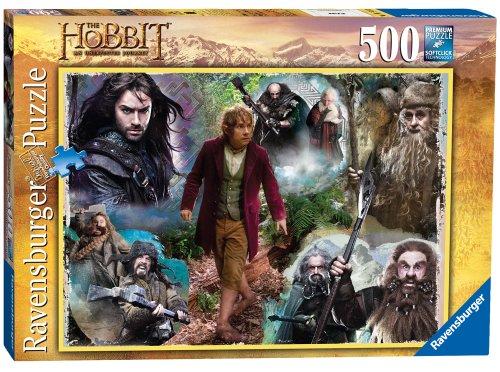 Ravensburger 14229 - Der kleine Hobbit-Puzzle, 500 Teile