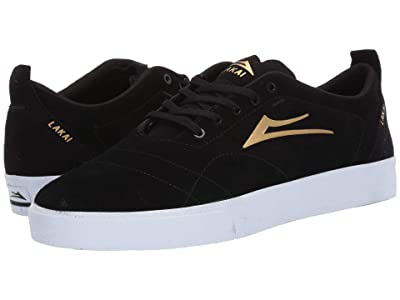 Lakai Bristol (Black/Gold Suede) Men