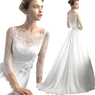 cd6c48a726c Amazon.fr   Robe De Mariee Princesse - Robes de mariage   Vêtements ...