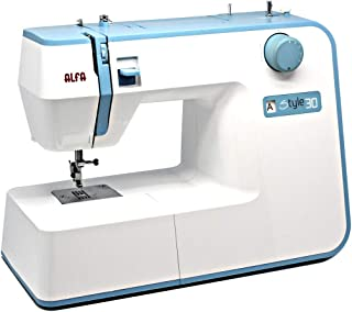 Alfa STYLE 30 - Máquina de coser (Azul, Blanco, Máquina de
