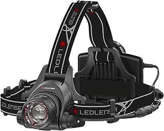 Ledlenser Hoofdlamp H14R.2 Hightech Led Allround Koplamp Oplaadbaar Tot 35 Uur Looptijd 1000 Lumen, Zwart/Rood