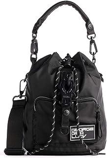 George Gina & Lucy Re-Nylon Sacxy Bucket Bag schwarz