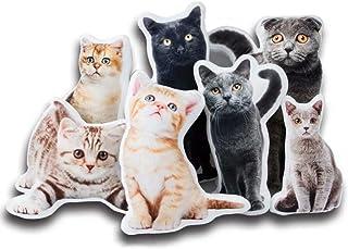 Jacklin F Almohada Personalizada para Mascotas, Foto Personalizada para Perros y Gatos, Molde para Bricolaje, Almohada en Forma de 3D, Almohada para Gatos de Doble Cara para un Regalo Distintivo