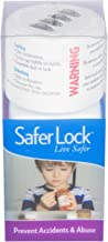 SaferLock Combination Lock Prescription Pill Bottle with 4 Digit Combo Locking Cap to Secure Your Medication