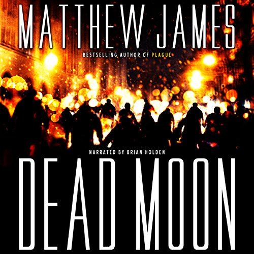 Dead Moon audiobook cover art