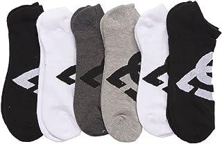 DC 6-Pack Men's Sport No Show Socks Assorted, 10-13 Size...