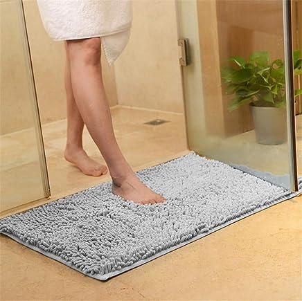 Linzenn worhan Color Puro – Felpudo, Absorbente de Alfombrillas para baño Servicios alfombras Alfombra