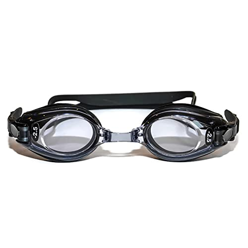 50b998fec6a Sports Vision World Optical Swimming Goggles Adult Black Minus   Plus UV  Tint