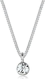Collar con Colgante para Mujer de Plata de Ley 45 cm Elli