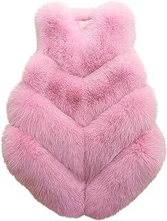 Ladies Faux Fur Waistcoat Slim Vest Warm Jacket Womens Temperament Wild Outwear Sleeveless Coat