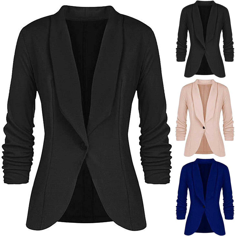 Wholesale Womens Black Blazers for Work Lapel Office Super sale Profession On Jackets