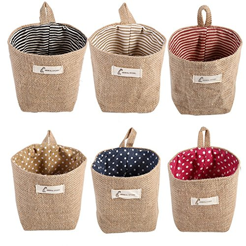 1Pc Hanging Storage Pouch Basket Container Reusable Grocery Bags Hanging Organizer Vegetable Bag Space Saving Laundry Hamper Bag Over the Door Hanger Bag
