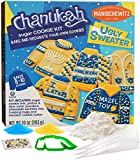 Manischewitz Chanukah Ugly Sweater Cookie Decorating Kit   Delicious, Easy to Prepare, Certified Kosher, Fun Hanukkah Activity for the Whole Family!