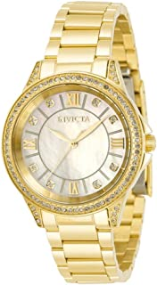 Invicta Angel Quartz Crystal White Dial Ladies Watch 30929