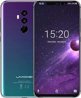 UMIDIGI Z2 pantalla FullView de 6,2 pulgadas (relación 19:9) - 64 GB ROM+6 GB RAM desbloqueado teléfono celular - Dual Sim...