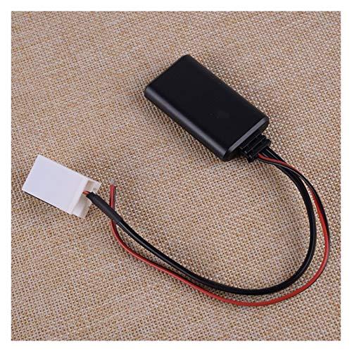 YYBLOVE YUYANGBIN Bluetooth 4.0 Cable Adaptador AUX 12 Pin 12V Fit para VW MCD R110 R100 RNS 300 RNS 500 RNS 510 RCD 200 RCD 210 Radio estéreo