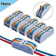 6//7 Ethernet Extender pour AV CCTV UTP DVR Borne /à vis RJ45,RJ45 femelle /à 8 bornes /à vis,Connecteur de borne /à vis /à boulon RJ45 8p8c /à 8Pin pour Cat5 femelle /à terminal