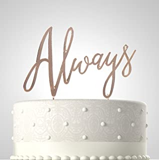 Best ribbon wedding cake toppers Reviews
