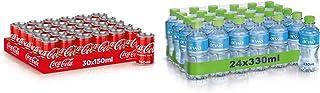 Coca-Cola Original Taste Soft Drink 150 ml (Pack of 30) + Arwa Drinking Water, 330 ml (Pack of 24)