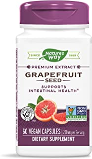 Nature's Way Premium Extract Broad Spectrum Grapefruit 250 mg Potency, 60 Vcaps