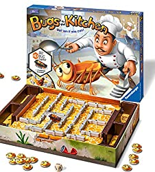 Bugs in the Kitchen - Children's Board Game FUN fast-paced game for children 6+