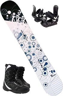【3点セット】 ZUMA ツマ スノーボード 18-19 DOCS ドックス ホワイト/ブルー 板/ビンディング/ブーツ