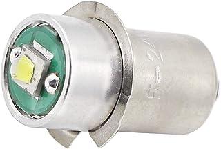 High Power LED Upgrade Bulb 3W 247LM DC5-24V 12V 18Volt PR2 P13.5S LED Flashlight Bulbs Replacement for DEWALT Flashlight ...