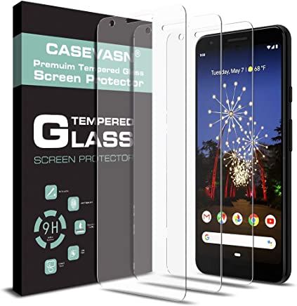 Amazon.com: [3-Pack] CASEVASN for Google Pixel 3a Screen Protector [Tempered Glass] [Case Friendly] 9H Hardness with Lifetime Replacement Warranty: Cell ...