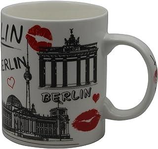 Freak Scene® Berlin Porzellan Tasse, Modell: Love Berlin we