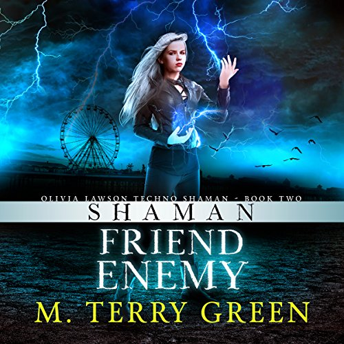 Shaman, Friend, Enemy audiobook cover art