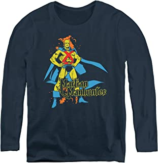 Dc Martian Manhunter Adult Long Sleeve T-Shirt for Women