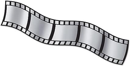 Beistle Filmstrip Metallic Decorating Material, 15