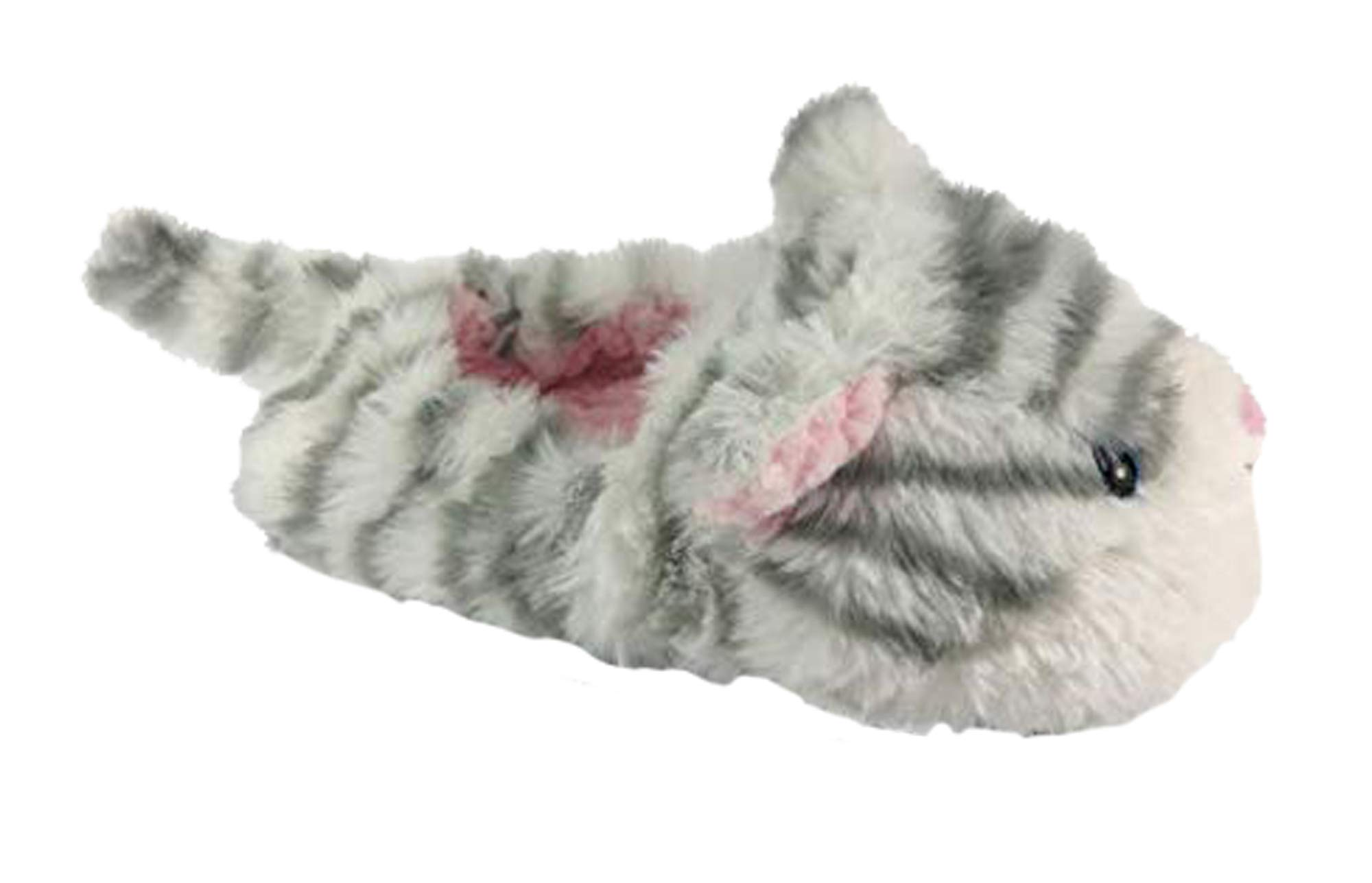 Image of Furry Kitty Cat Slippers for Girls